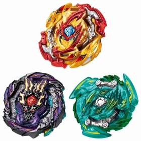 Beyblade GT B-149 TRIPLE BOOSTER SET.